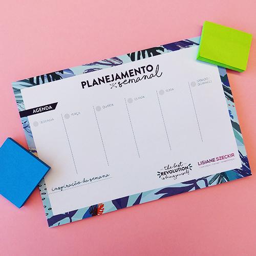 Bloco Planejamento Semanal