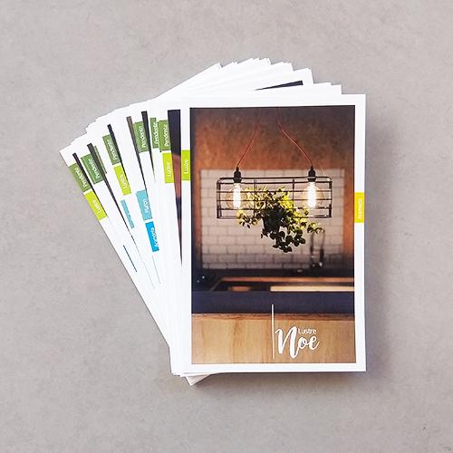 Catálogo em Cartões