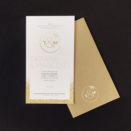 Convite Casamento T&M
