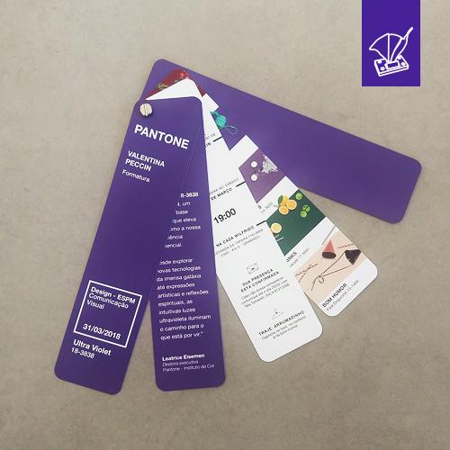 Convite Formatura Paleta Pantone